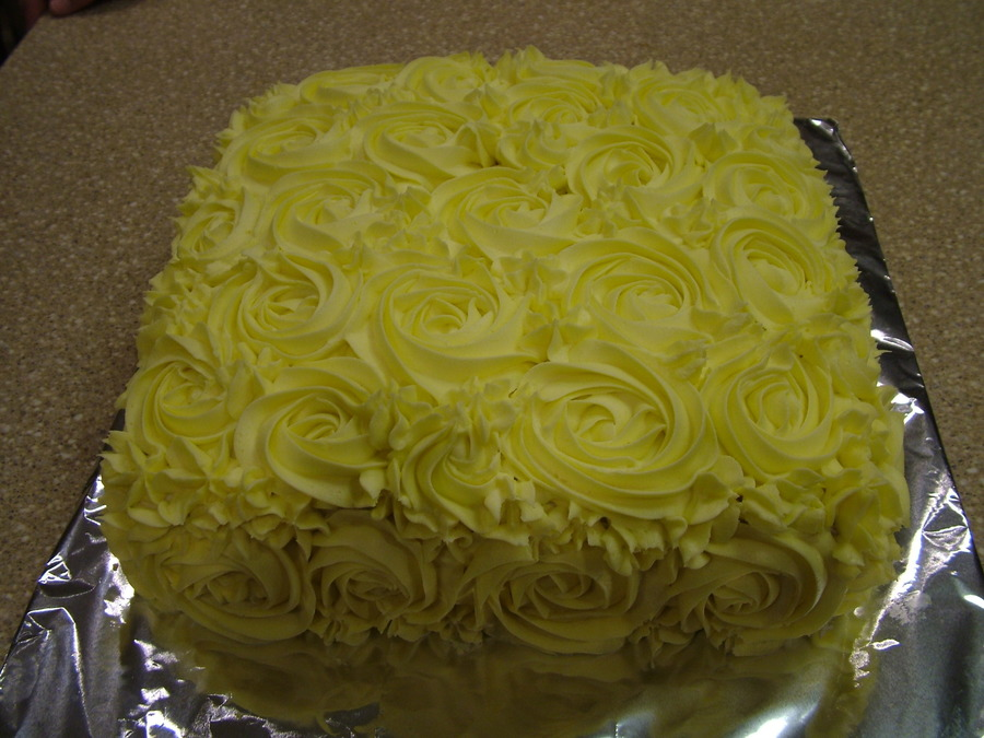 Roses W/stars on Cake Central