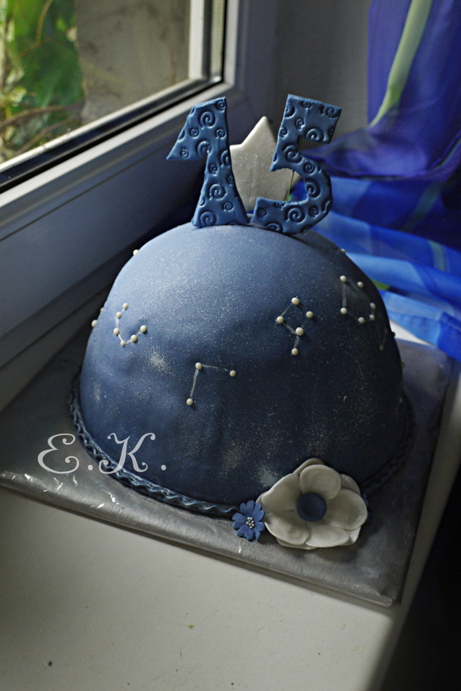 Star Sky And Constellations on Cake Central