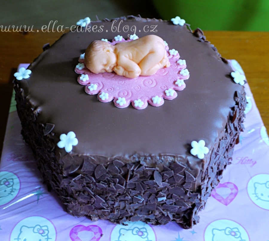 It's A Girl! on Cake Central