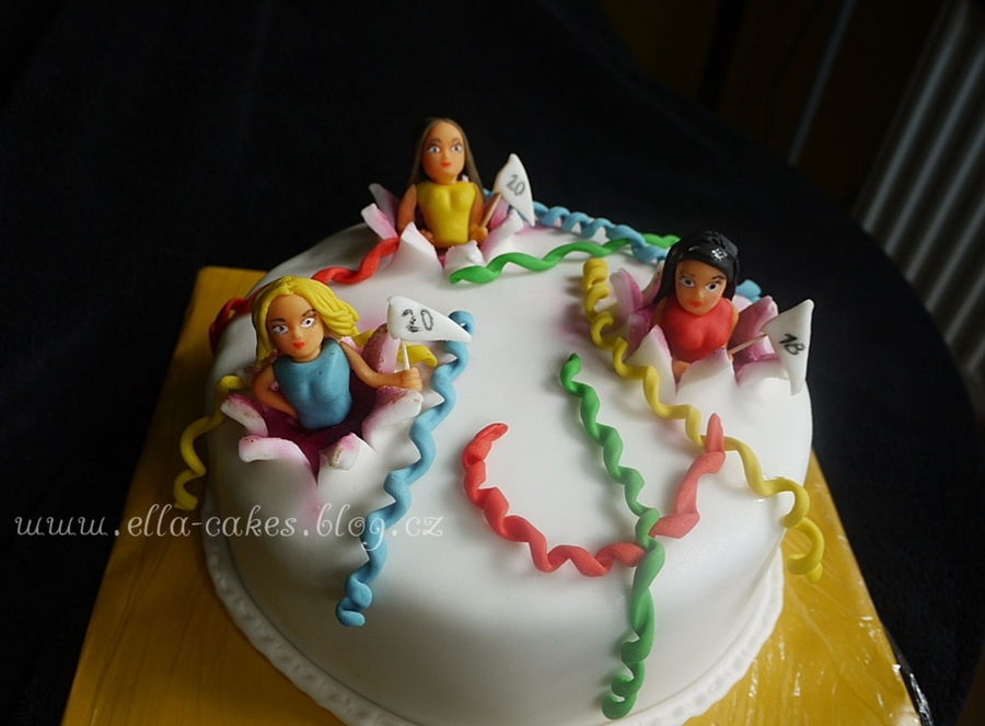 Party Cake For Girls on Cake Central