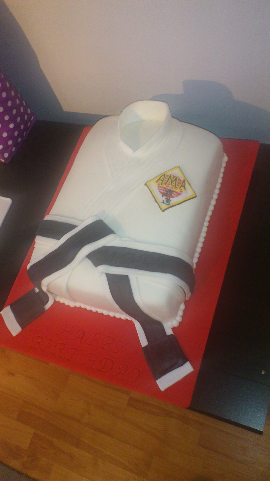 Karate Cake on Cake Central