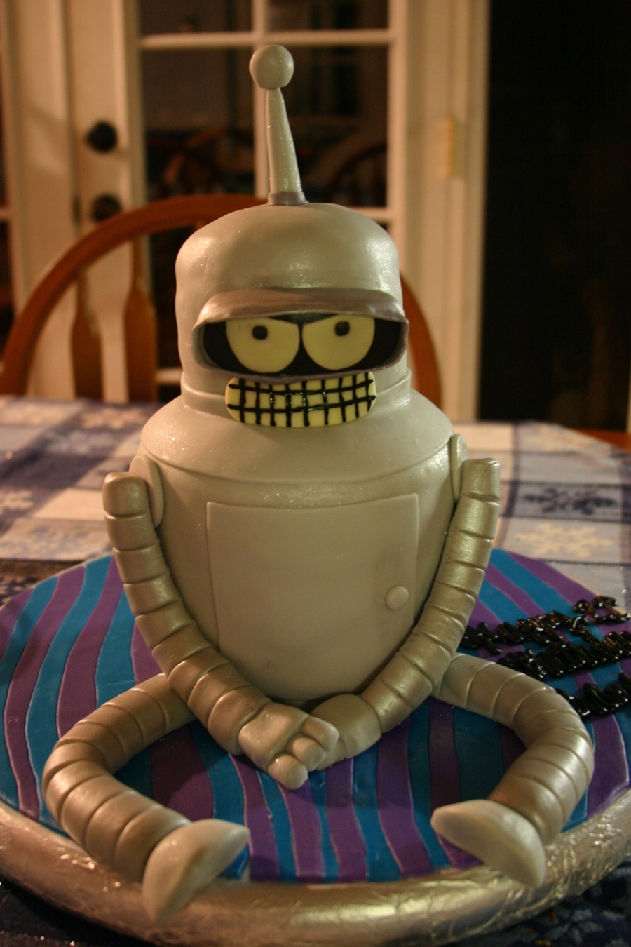 Bender The Robot on Cake Central