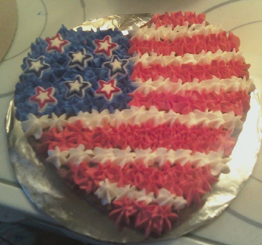 Fourth Of July Cookie Cake on Cake Central
