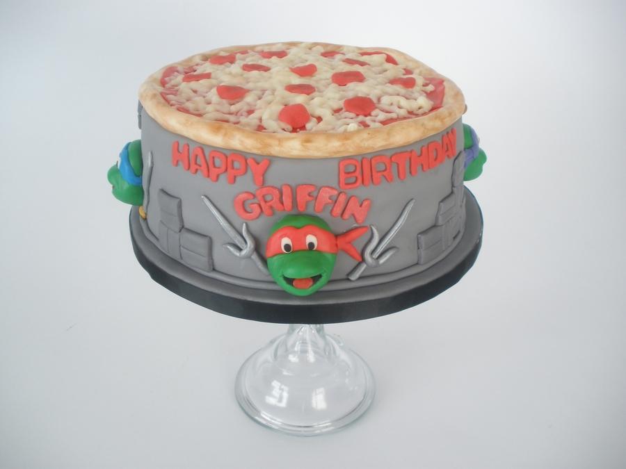 Tmnt Birthday Cake Template