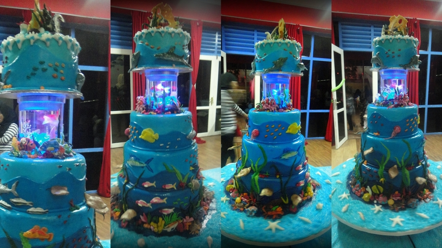 Under The Sea Theme Cake - CakeCentral.com