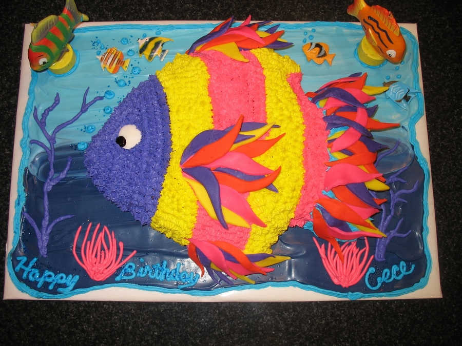 Tropical Fish on Cake Central