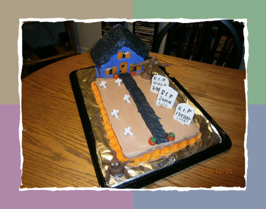 House Of Horrors.. on Cake Central