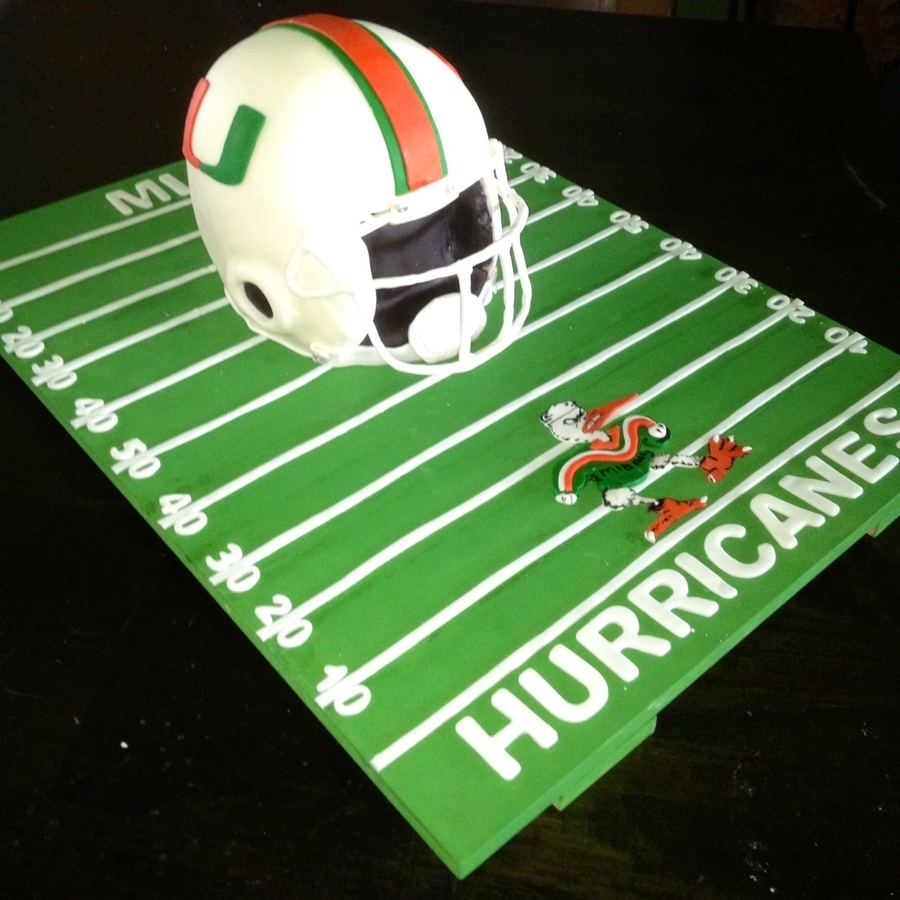 University Of Miami Cake on Cake Central