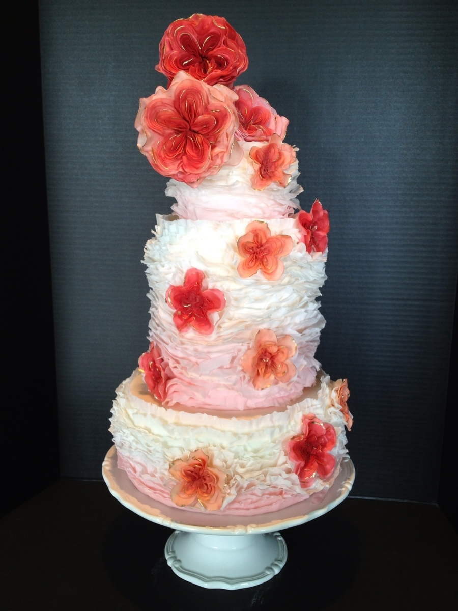 Ruffles And Roses on Cake Central