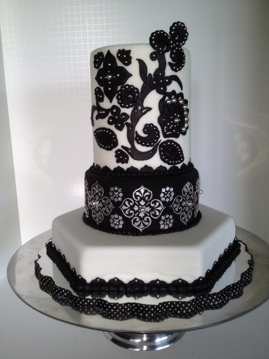 Moroccan Inspired Cake on Cake Central