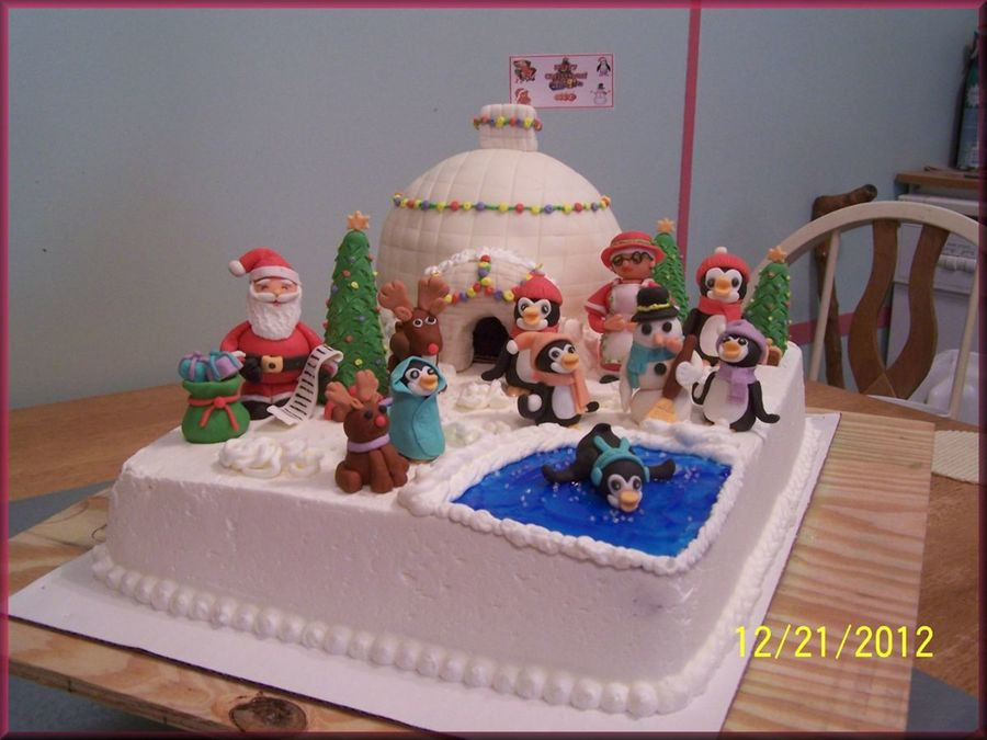 Christmas Friends on Cake Central