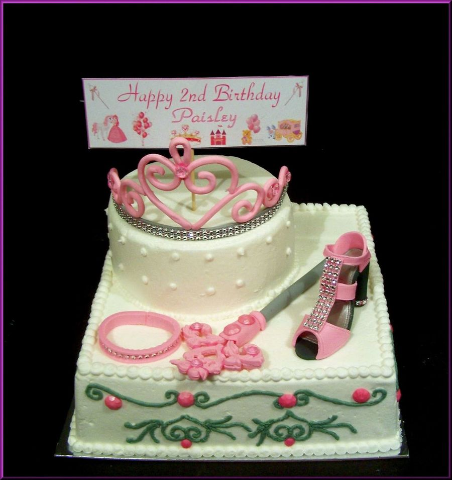 Little Princess Birthday Cake Cakecentral