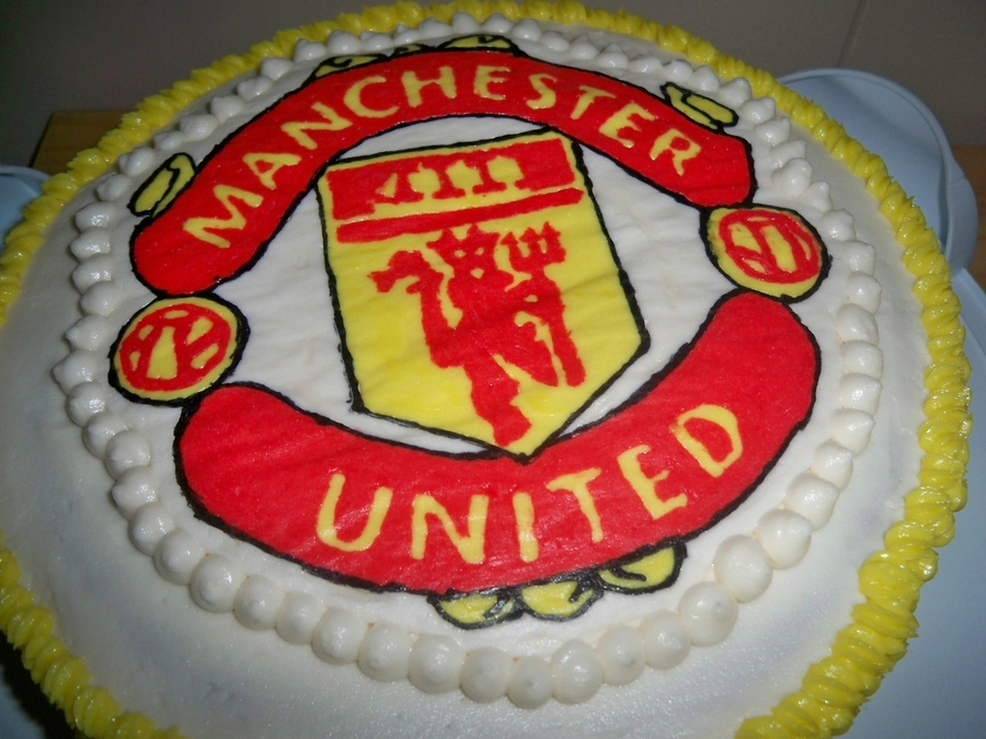 Manchester United on Cake Central