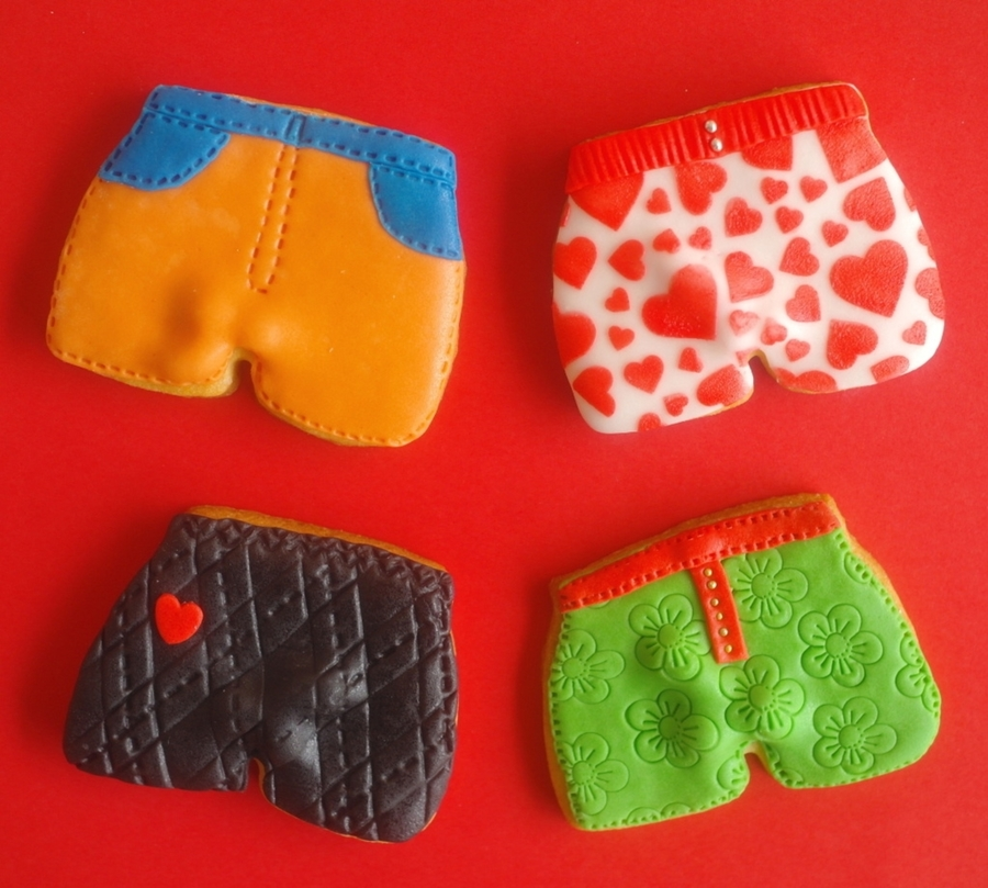 Boxer Shorts Cookies ;-) on Cake Central