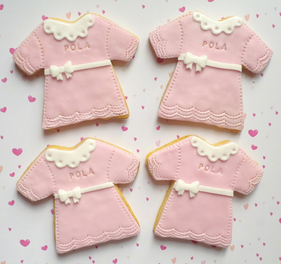 Cookies For Baby Girl Christening on Cake Central