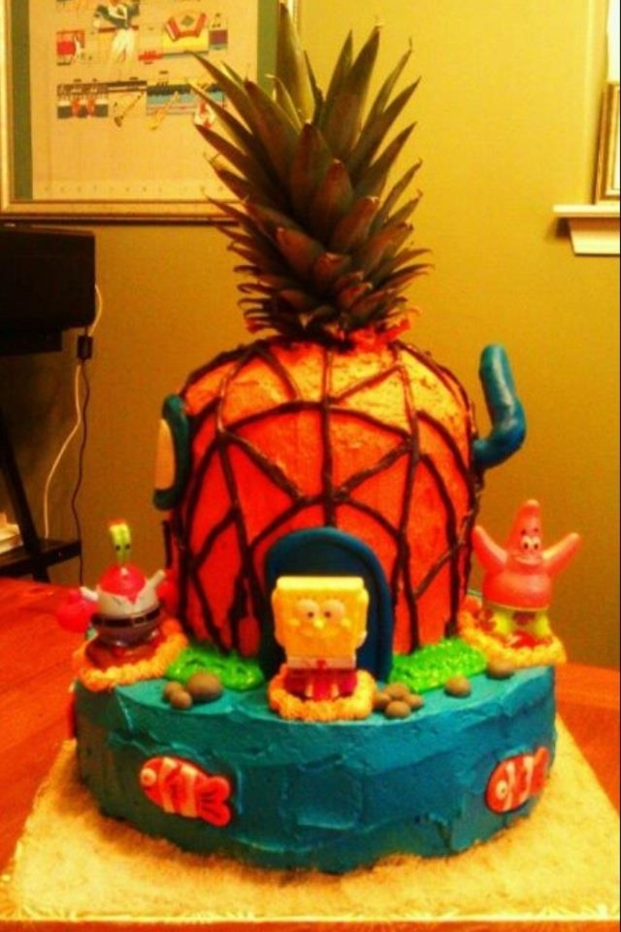 Spongebob Birthday Cake on Cake Central