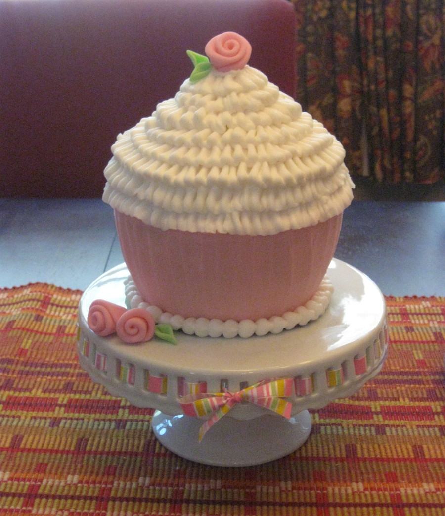 Over Sized Cupcake on Cake Central