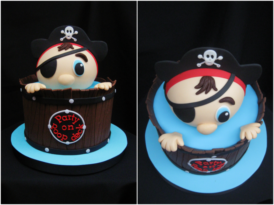 Pirate Baby Shower On Cake Central