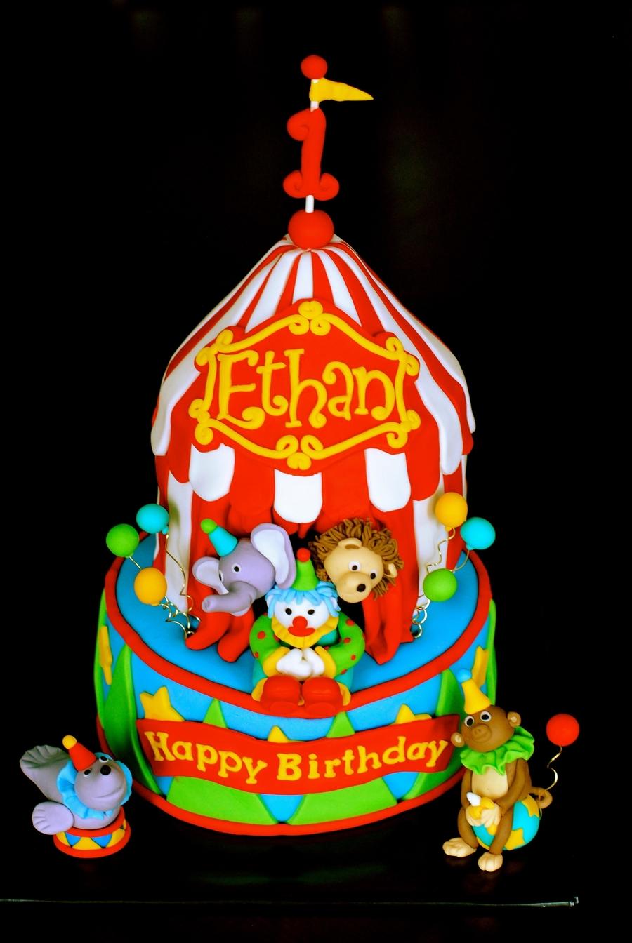 Circus Cake Cakecentral Com