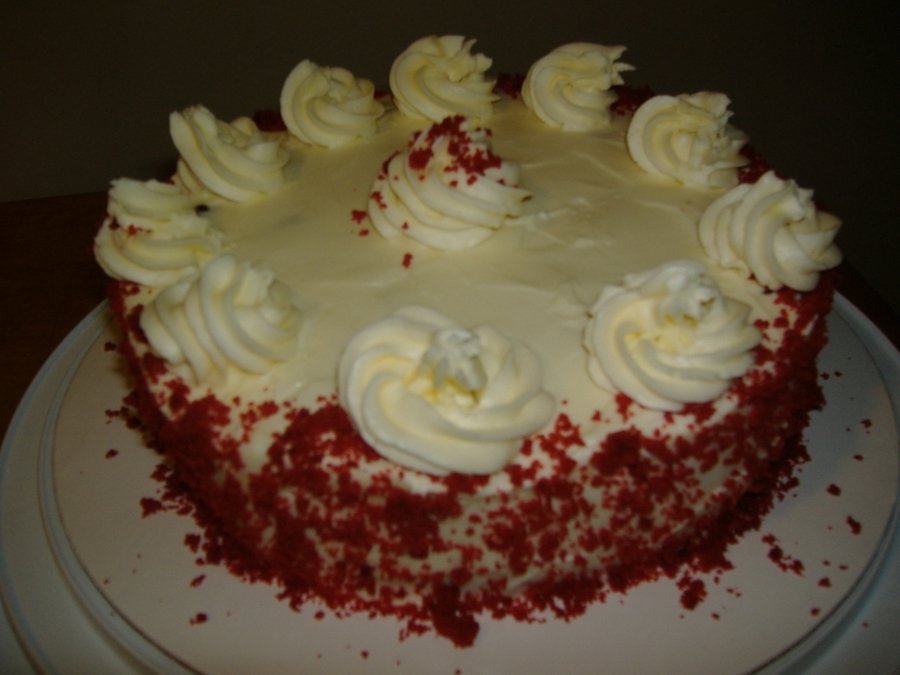 Red Velvet Cheesecake on Cake Central