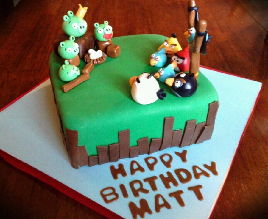 Angry Birds That Taste So Sweet :-) on Cake Central