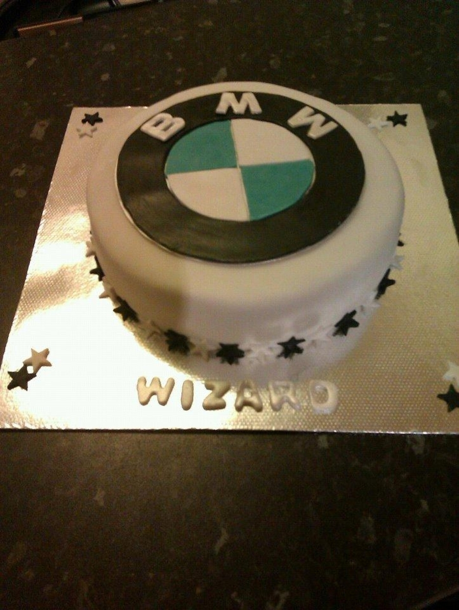 Bmw Car Logo on Cake Central