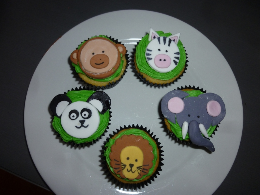 Zoo Cupcakes on Cake Central