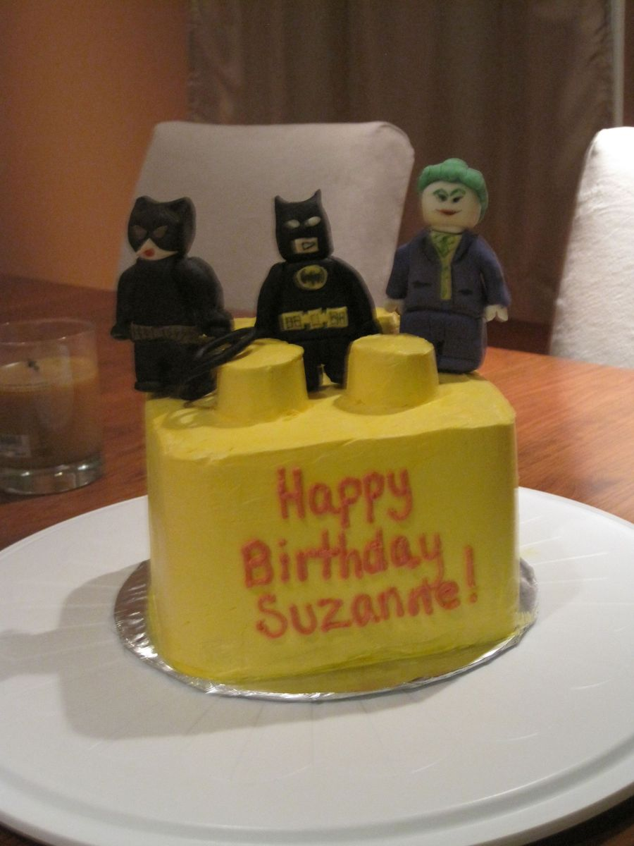 Batman Lego Cake on Cake Central