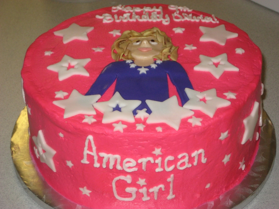 American Girl Birthday Cake - CakeCentral.com
