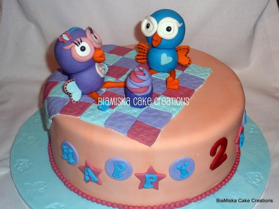 Hoot & Hootabelle on Cake Central