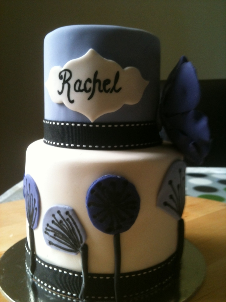 Birthday Cake For Rachel Cakecentral
