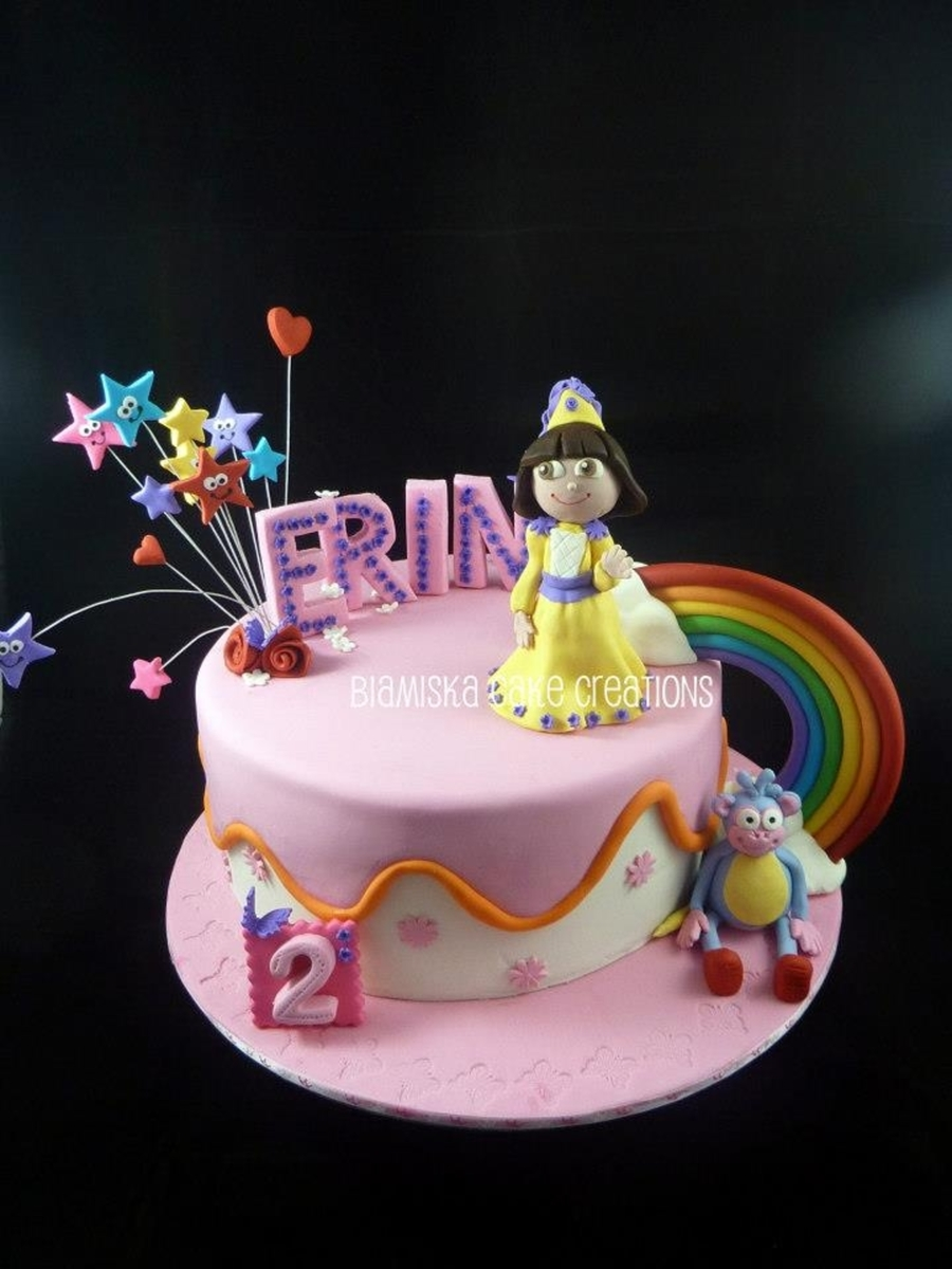 Dora & Boots Cake on Cake Central