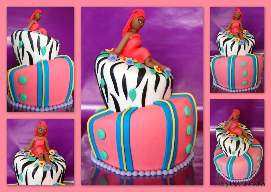 Topsy (Rihanna) on Cake Central