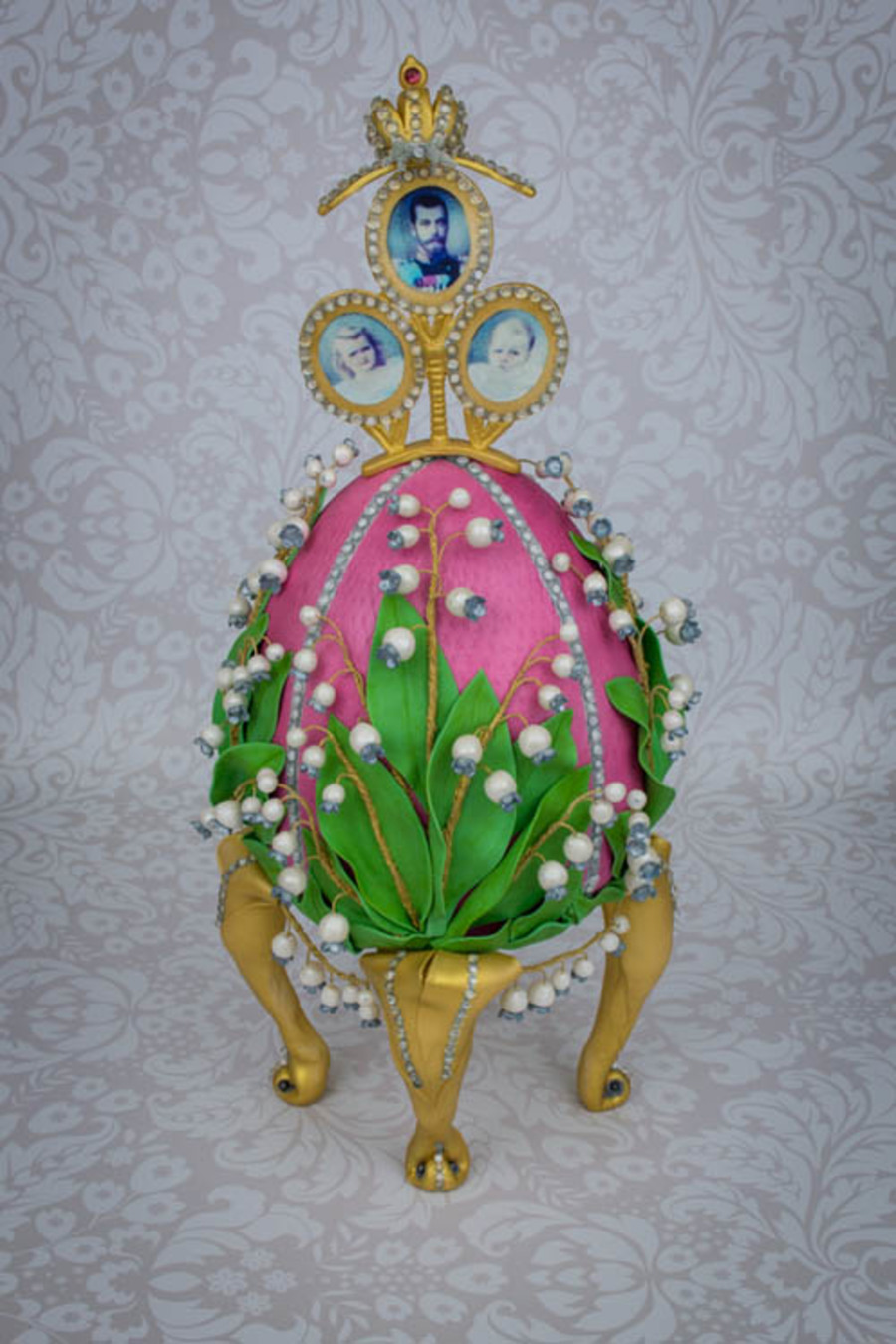 Faberge Egg Cake Tutorial