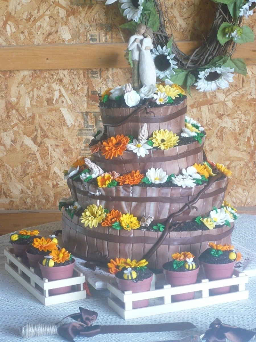 Country Wedding on Cake Central