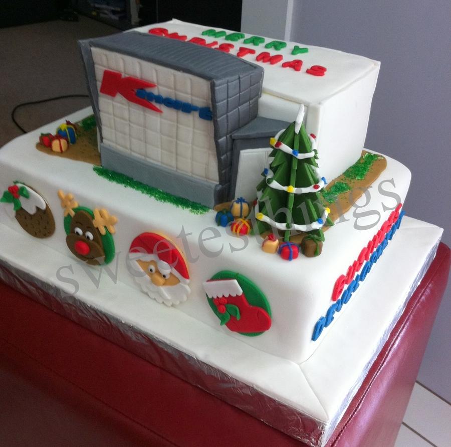 Cake Decoration Kmart : Kmart Bd Team Christmas Cake 2011 - CakeCentral.com