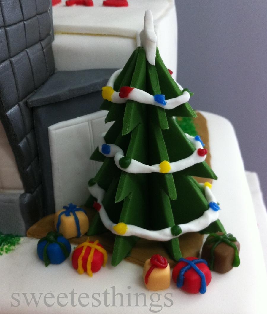 Kmart Bd Team Christmas Cake 2011 - CakeCentral.com