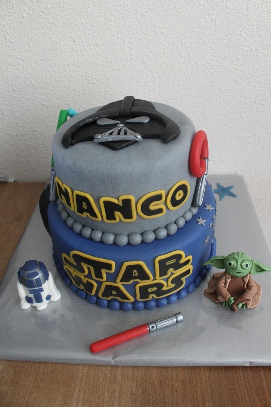 Star Wars Cake Cakecentral Com
