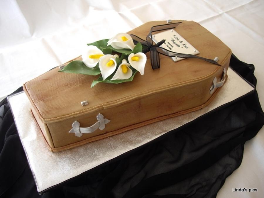 Coffin Wedding Cake