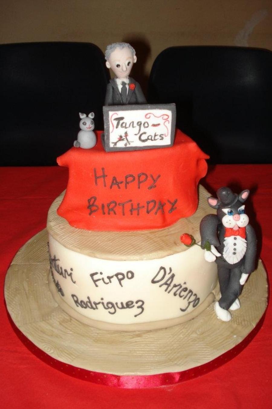 Amazing Tango Dj Birthday Cake Cakecentral Com Personalised Birthday Cards Cominlily Jamesorg