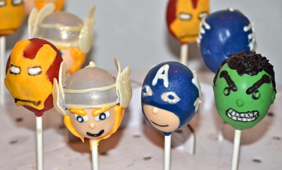 avengers cake pops cakecentralcom