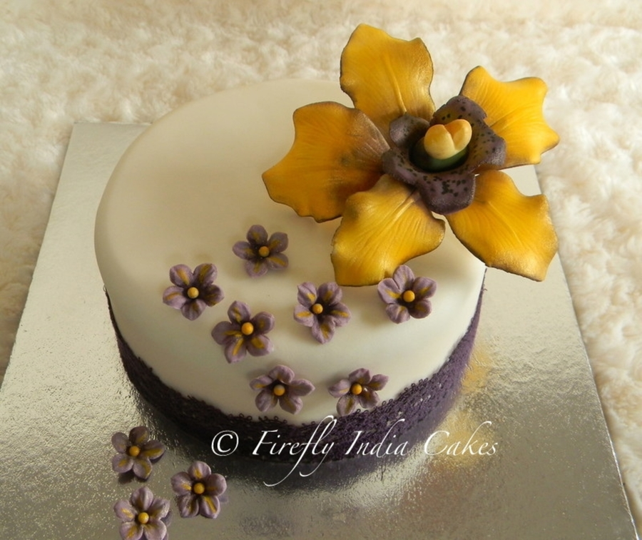 Orchid & Lace on Cake Central