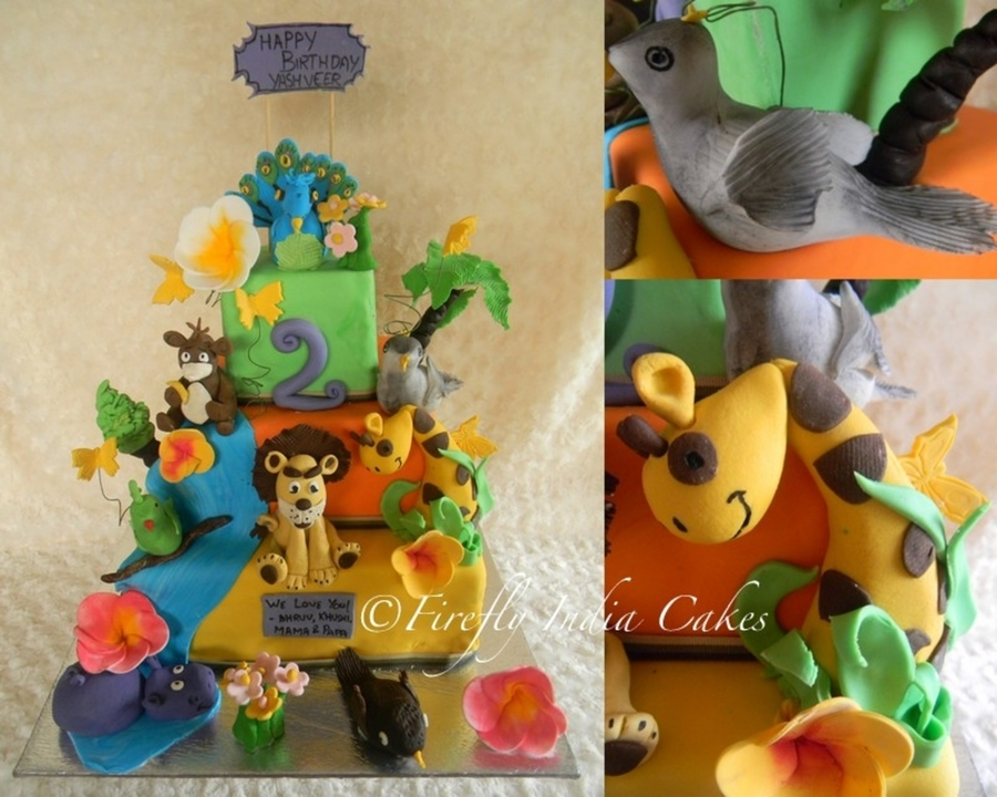 Animal Kingdom on Cake Central