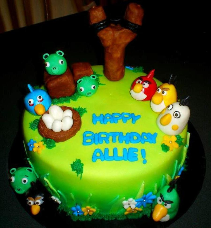 Angry Birds Birthday Cake Cakecentral
