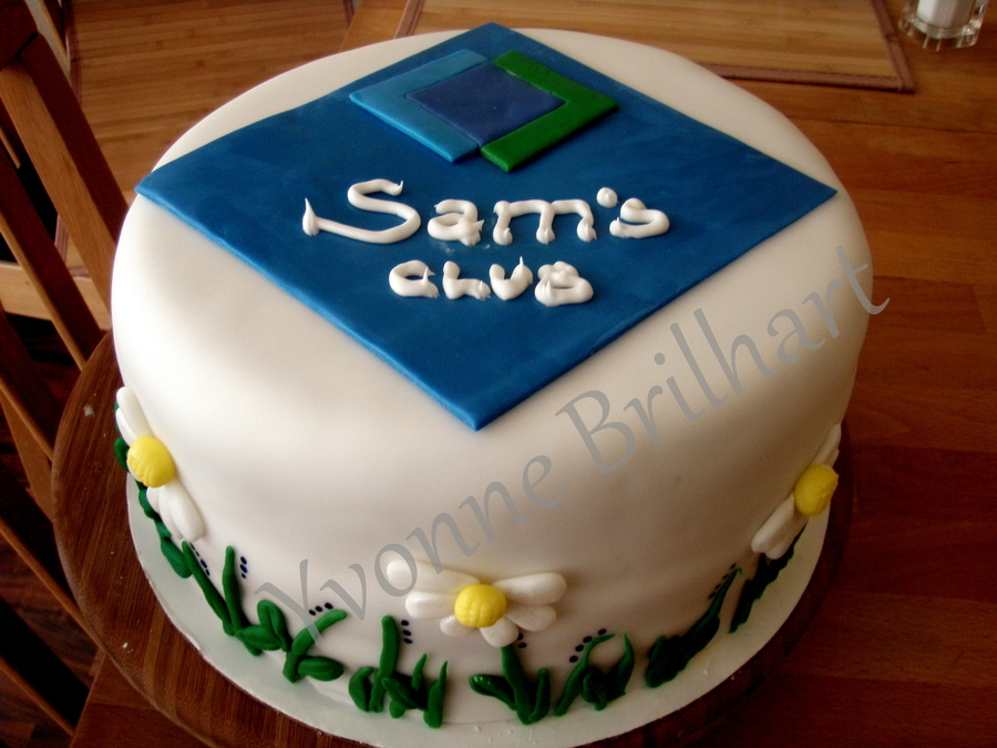 Sam's Club Party  on Cake Central