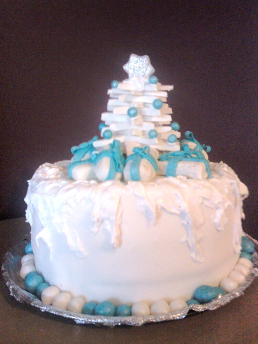 White Christmas on Cake Central