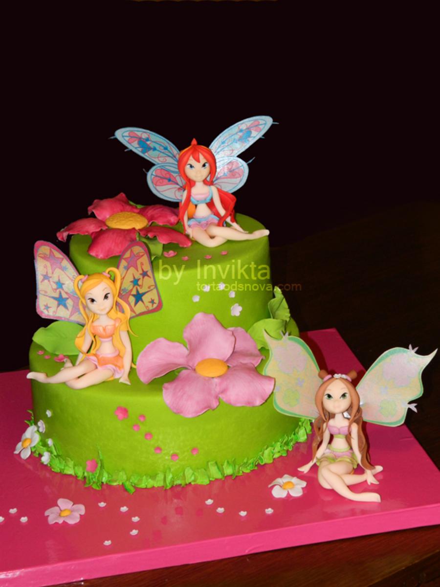 Winx Cake Cakecentral Com