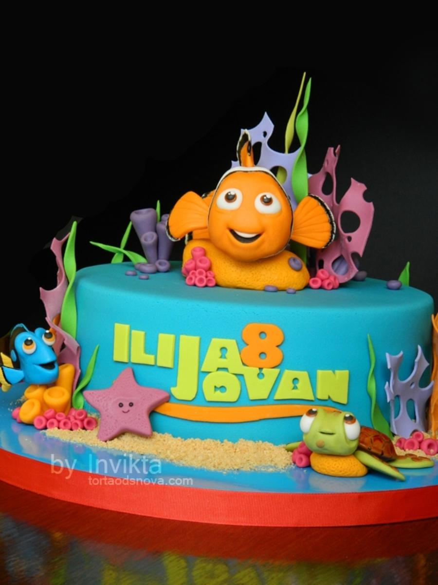 Finding Nemo Birthday Cake Cakecentral Com