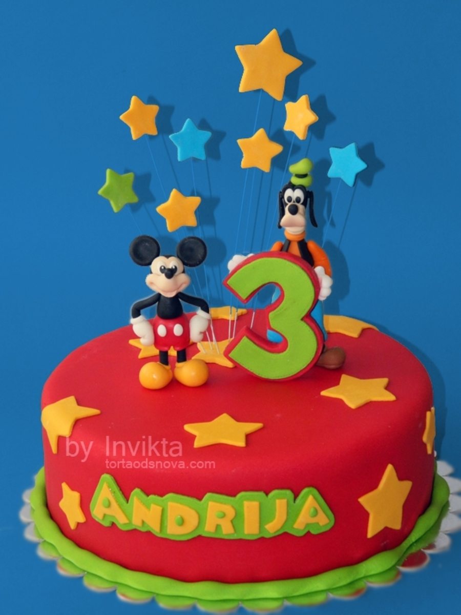 Mickey And Goofy on Cake Central