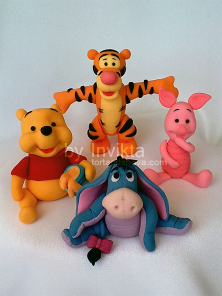 Winnie The Pooh And Friends on Cake Central